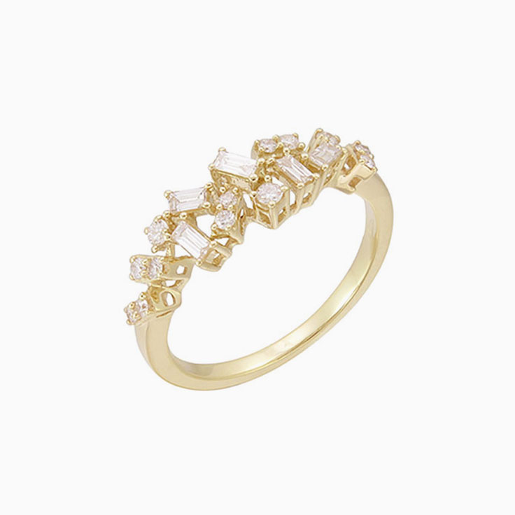 Multi Shape stakable Ring