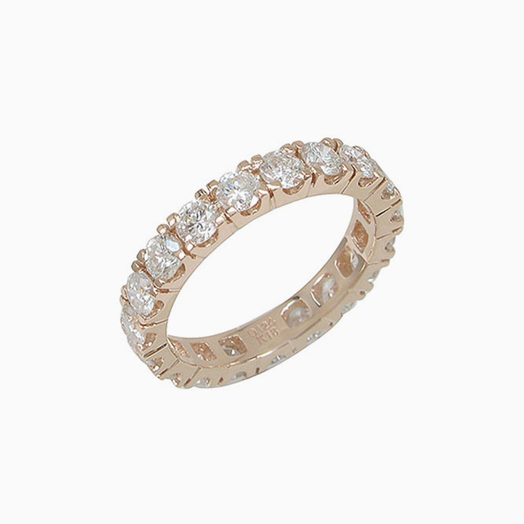 6 Points Eternity Ring